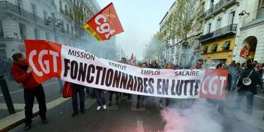 Les fonctionnaires s'étaient déjà joints aux manifestation contre la loi travail enmai2016 pour dénoncer une dégradation de leurs conditions de travail.