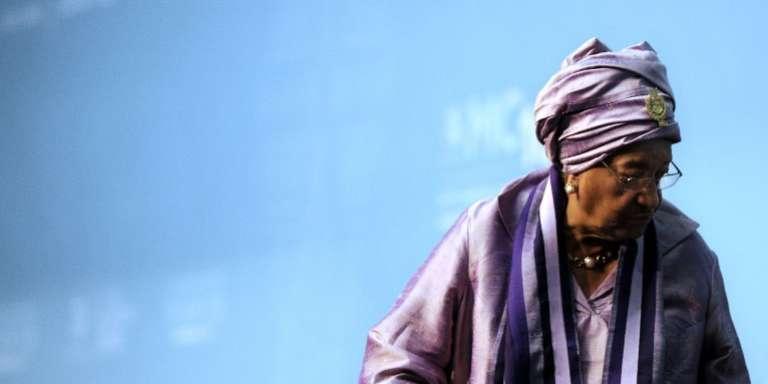 La présidente sortante du Liberia, Ellen Johnson Sirleaf, le 16 décembre 2015 à Nairobi, au Kenya.