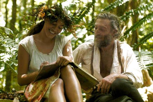 Tuheï Adams et Vincent Cassel dans«Gauguin, voyage de Tahiti», d'Edouard Deluc.