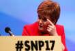 Nicola Sturgeon au congrès du SNP, à Glasgow, le 9 octobre.