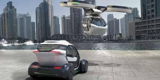 Le projet de taxi volant d'Airbus a été révélé en début d'année.