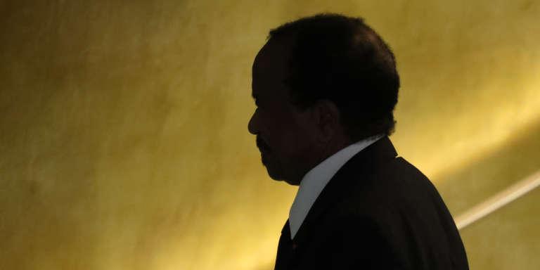 Le président camerounais Paul Biya à l'assemblée générale des Nations unies, à New York, le 22 septembre 2016.