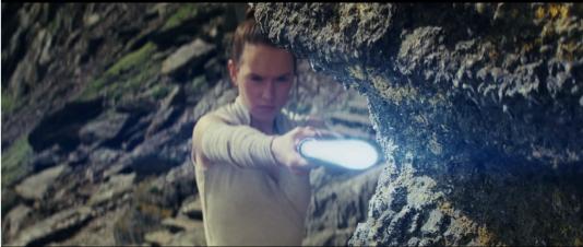 Rey, dans la bande-annonce des «Derniers jedis».