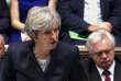 La première ministre britannique Theresa May à la Chambre des communes, le 9 octobre à Londres.