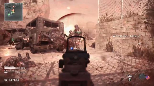 La série« Call of Duty» a popularisé un système de santé s'autorégénérant automatiquement.