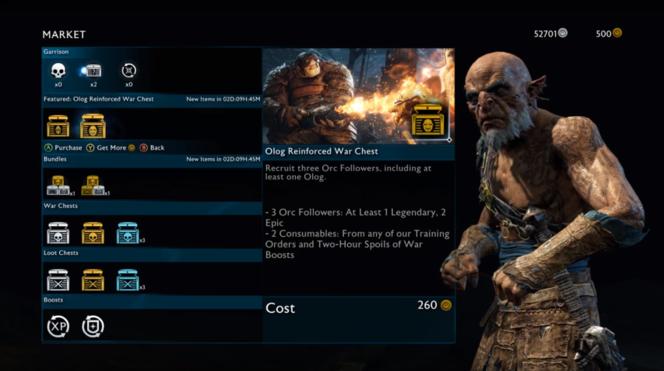Grâce à ces coffres au contenu aléatoire, le joueur peut gagner facilement de meilleurs alliés... à condition de payer et d'avoir un peu de chance.