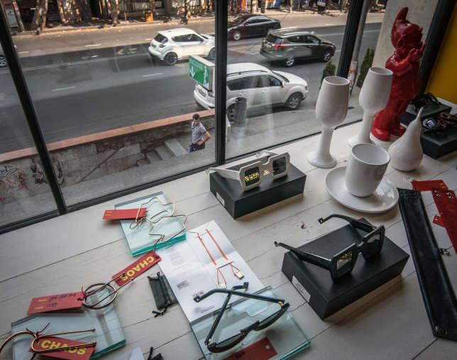 Concept-store Chaos, à Tbilissi.