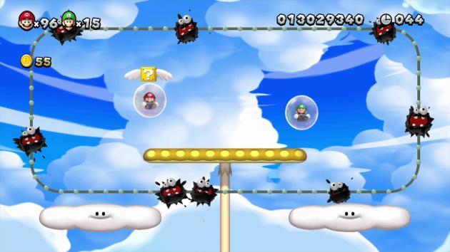 Dans «New Super Mario Bros. Wii», Nintendo introduit des bulles dans lesquelles le joueur peut se réfugier, laissant un autre traverser le niveau.