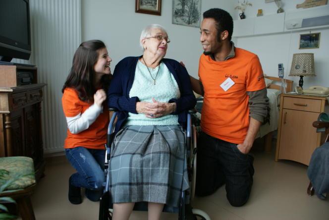 Pour Nicolas Hazard, l'ESS peut jouer un rôle important dans des secteurs clefs comme celui des personnes âgées.