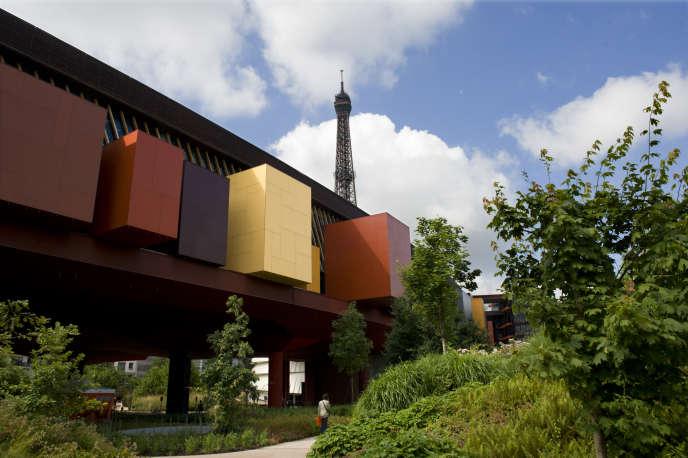 Le Musée du quai Branly-Jacques Chirac à Paris, ici en juin 2009, où sont conservées une grande partie des oeuvres d'art provenant d'Afrique subsaharienne.