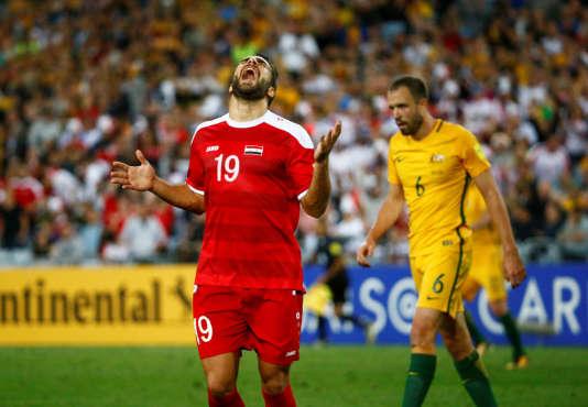 Mardek Mardkian lors du match face à l'Australie.