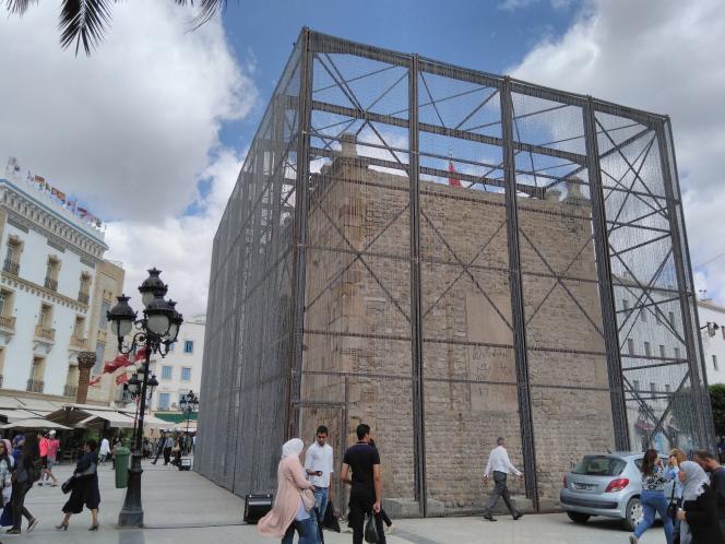 «Barbed Gate», 2017. Courtesy Nidhal Chamekh et Dream City.
