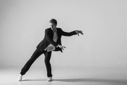 Le danseur François Alu, en janvier 2016.