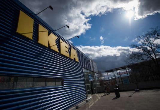 Le plus grand magasin Ikea d'Europe, à Kungens Kurva, au sud-ouest de Stockholm, en mars 2016.