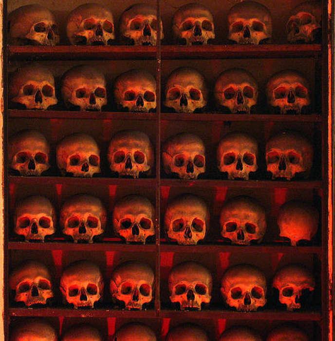 Ossuaire deSanta Maria dell'Orazione e Morte, à Rome.