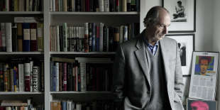 Philip Roth chez son agent, à New York, en 2008.