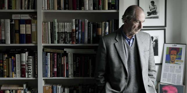 Philip Roth chez son agent, à New York, en 2008.