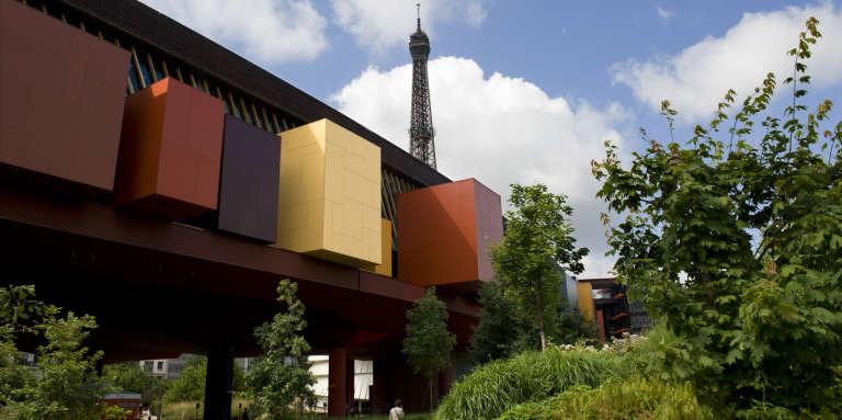 Le Musée du quai Branly-Jacques Chirac, à Paris, en juin 2009.