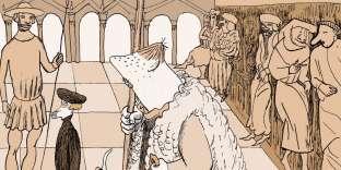 Extrait de«La Farce de Maître Pathelin», de David Prudhomme et Alexandre Clérisse.