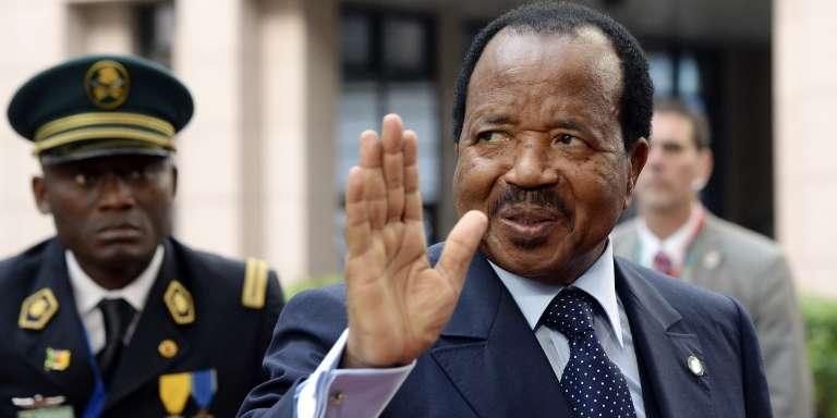 Paul Biya lors du sommet Union européenne-Afrique à Bruxelles, en avril 2014.