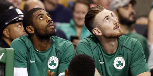Kyrie Irving et Gordon Hayward ont rejoint Boston à l'intersaison.