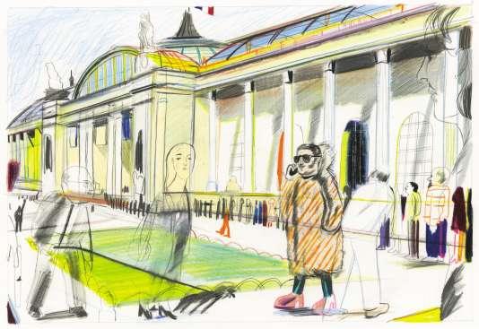 Les expositions grand public attirent les foules auGrand Palais. Celle sur Monet avait accueilli 900 000 visiteurs.