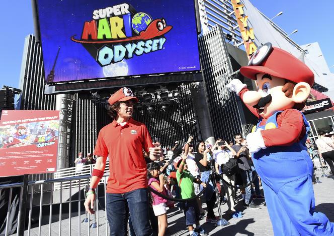 La phase de promotion a commencé pour le jeu phare de Nintendo à Noël, «Super Mario Odyssey».