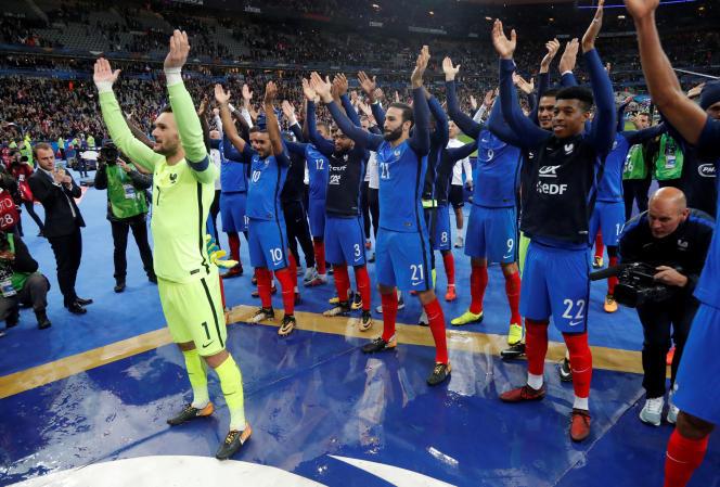 L'équipe de France a arraché son billet pour le Mondial 2018, mardi 10 octobre, après sa victoire (2-1) contre la Biélorussie.