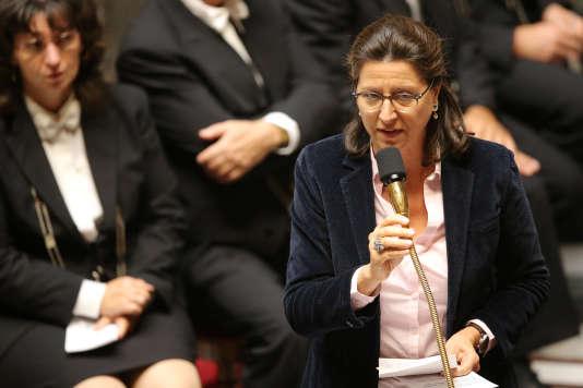 La ministre de la santé, Agnès Buzyn, le 26 septembre 2017 à l'Assemblée nationale.