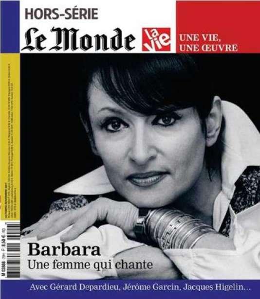 «Barbara, une femme qui chante», un hors-série coédité par «Le Monde»et «La Vie», collection «Une vie, une œuvre», 122 pages, 8,50 euros, en kiosque.