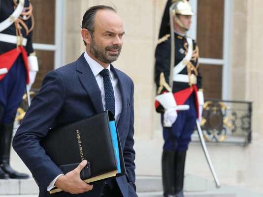 Le premier ministre Edouard Philippe, le 11 octobre à l'Elysée.
