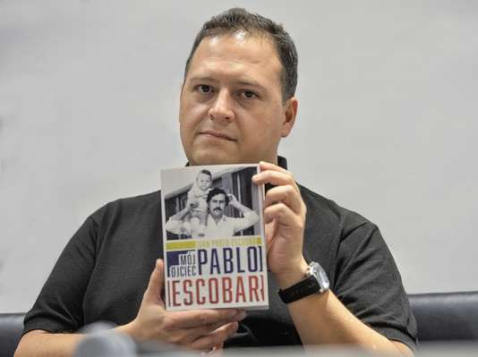Juan Pablo Escobar se fait appeler Sebastian Marroquin auteur de« Pablo Escobar, mon père» (Hugo Doc).