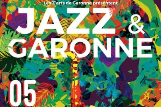 Affiche (détail) du festival Jazz et Garonne.