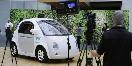 La voiture autonome conçue par Waymo (Google)