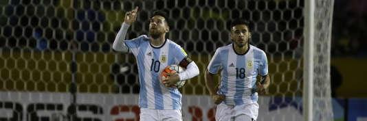 Lionel Messi– ici le 10 octobre– a qualifié l'Argentine pour la Coupe du monde.