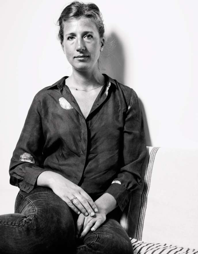Marion Graux, créatrice de céramiques.