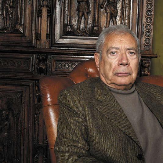 Michel Jouvet, neurophysiologiste et psychologue spécialisé dans la recherche sur le sommeil, en 2007.