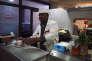 Arrivé en France il y a dix ans, le darfourais Ousman a ouvert le restaurant «Chez Tony» en 2013, à Paris le 10 octobre.