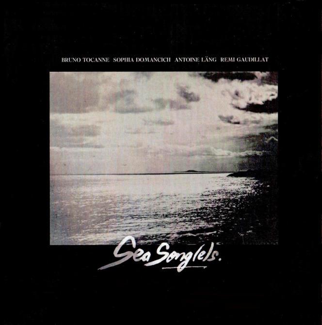 Pochette de l'album« Sea Song(e)s», de Bruno Tocanne.
