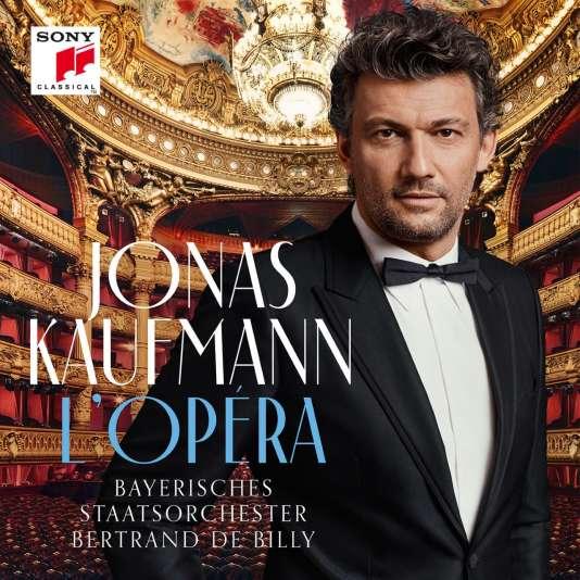 Pochette de l'album« L'Opéra», de Jonas Kaufmann.