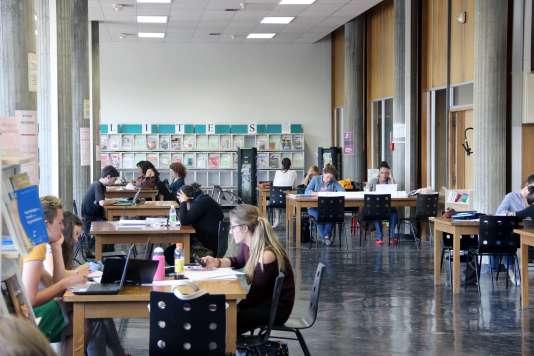 Université Montpellier-III, en 2014.