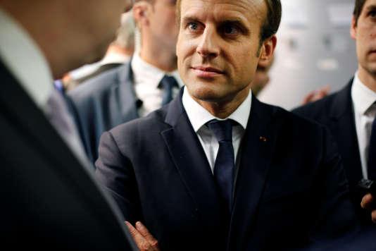 Emmanuel Macron à Paris le 6octobre.
