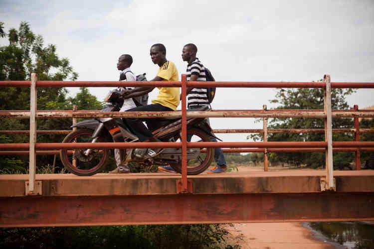 A l'université de Ouagadougou, en novembre 2014.
