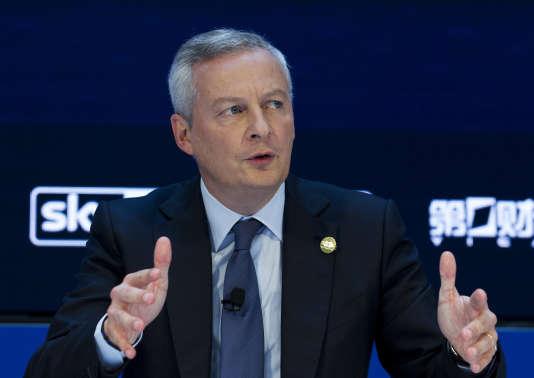 Bruno LeMaire, ministre des finances, en octobre.