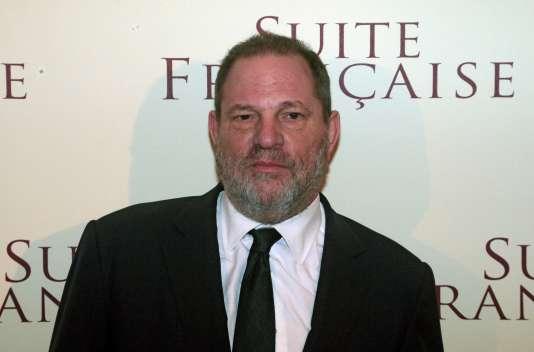 Le producteur américain Harvey Weinstein à Paris en mars 2015.
