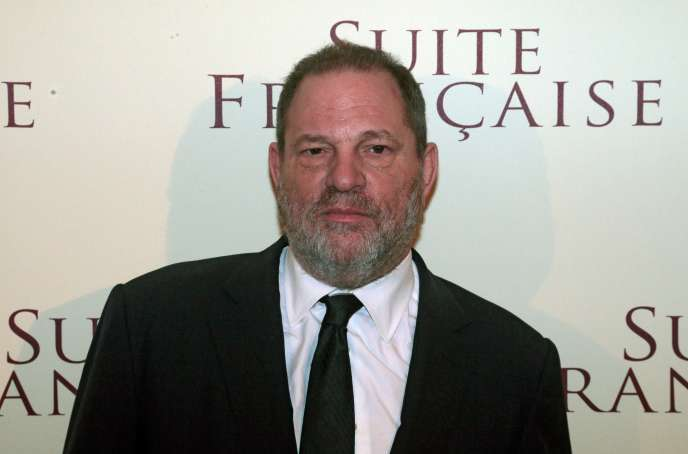 Le producteur américain Harvey Weinstein à Paris en mars 2015.