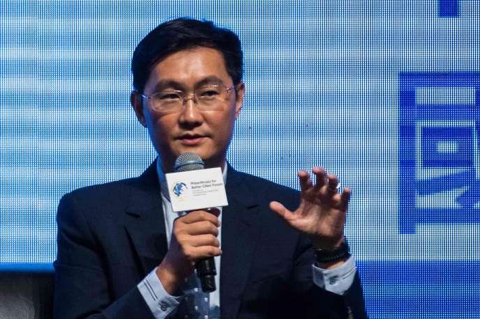 Pony Ma, le patron de Tencent, en septembre 2016.