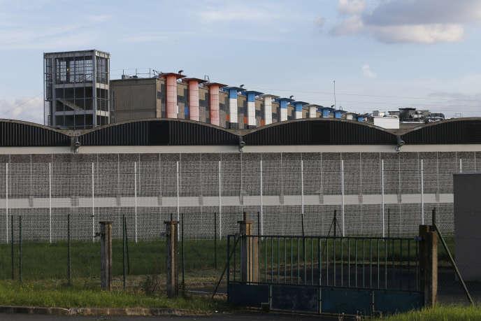 La prison de Fleury-Mérogis, près de Paris, en avril 2010.