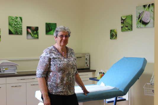 Le docteur Sylvie Mortain, 58 ans.