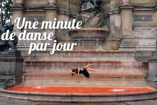 « Une minute de danse par jour», par la danseuse et chorégrapheNadia Vadori-Gauthier.
